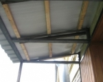 Крыша на балконе-1
