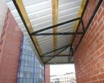 Крыша на балконе-3
