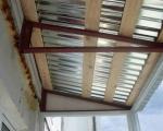 Крыша с балконом-4