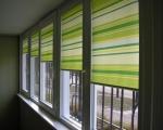Жалюзи на пластиковые окна на балкон