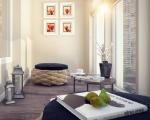 Комната с лоджией дизайн-2