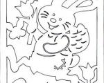 Вытынанки заяц