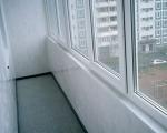 Обшивка балкона пластиковыми панелями-7-1