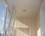 Обшивка балкона пластиковыми панелями-7-3