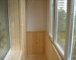 Обшивка балкона вагонкой своими руками-7-3