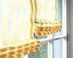 Римские шторы на балкон-4