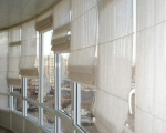 Римские шторы на балкон-6