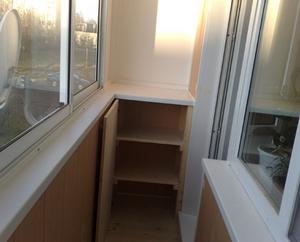 шкаф тумба на балкон
