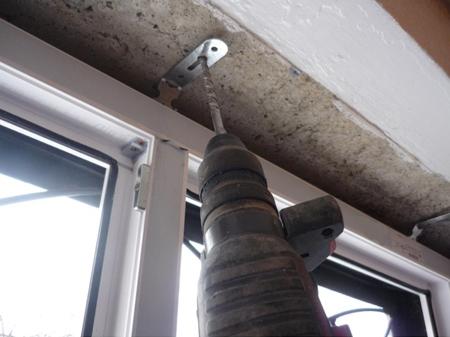 монтаж балконного блока