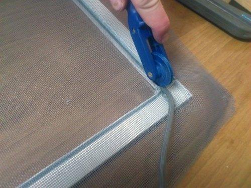 установка москитной сетки своими руками
