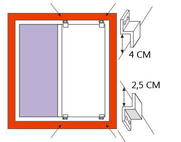 как установить противомоскитную сетку