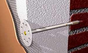 крепление пенопласта к стене